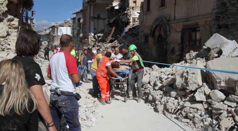 MAE: Dintr-o eroare la identificarea cadavrelor, in Romania a fost inmormantat un italian decedat la cutremur in Amatrice