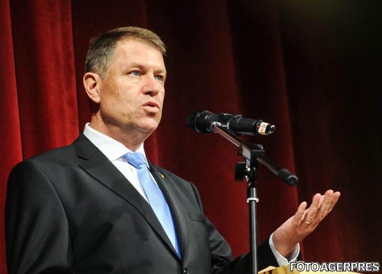 Klaus Iohannis: Oamenii nu mai vor penali in Parlament, sunt partide care nu inteleg asta