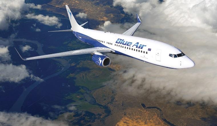 Blue Air va zbura din Timisoara spre Iasi si Cuj cu preturi de la 90 lei