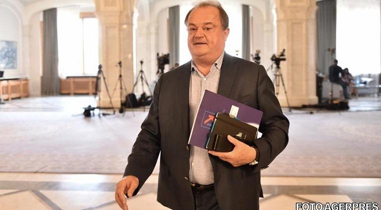 Vasile Blaga, audiat la DNA in calitate de suspect intr-un dosar de trafic de influenta
