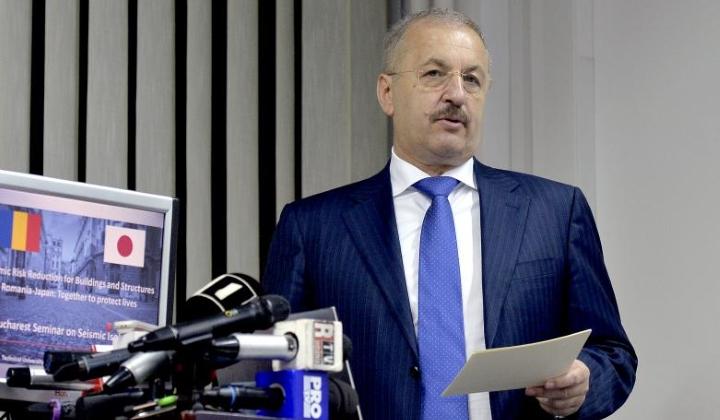 Vasile Dincu: Cand vorbim de risc de dezastre, trebuie schimbata mentalitatea ca proprietatea individuala este mai importanta decat protectia colectiva