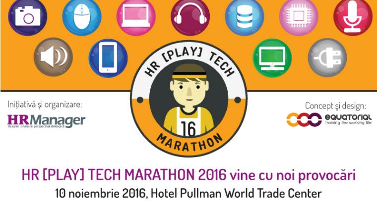 (P) HR [PLAY] Tech Marathon, editia a II-a, vine cu noi provocari pentru managerii HR