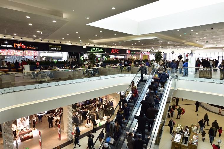 Un nou mall in Romania, inaugurat astazi. Investitie de 25 milioane de euro in Shopping City Piatra-Neamt
