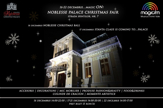 (P) Noblesse Palace Christmas Fair - Magic ON!