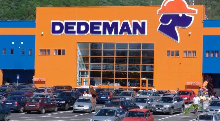 Dedeman incheie anul cu 45 de magazine, dupa ce a deschide al doilea spatiu comercial in Bacau, peste 9.000 de angajati si afaceri de peste 1 MLD. euro