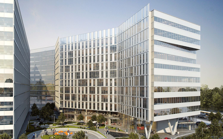 Real-Estate - Skanska demareaza lucrarile proiectului de birouri Campus 6 din Bucuresti: investitia in prima faza, 38 mil. euro