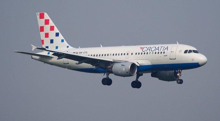 Croatia Airlines introduce zboruri din Bucuresti catre Split, Dubrovnik, Zadar de la 149 euro
