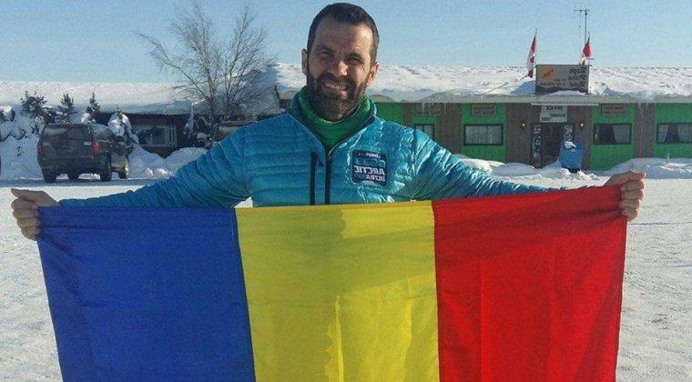 Tiberiu Useriu a castigat a doua oara maratonul de peste 560 de kilometri, de la Polul Nord