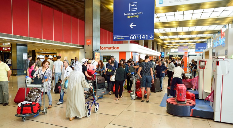 Traficul aerian complet intrerupt in urma incidentului de pe Aeroportul Orly-Sud
