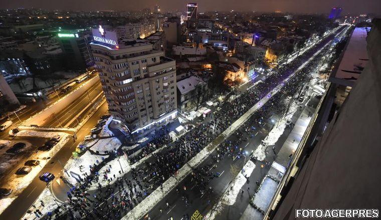 """Noi proteste antiguvernamentale, anuntate pentru duminica in Bucuresti si in tara: """"Pana aici! Plecati acasa!"""""""