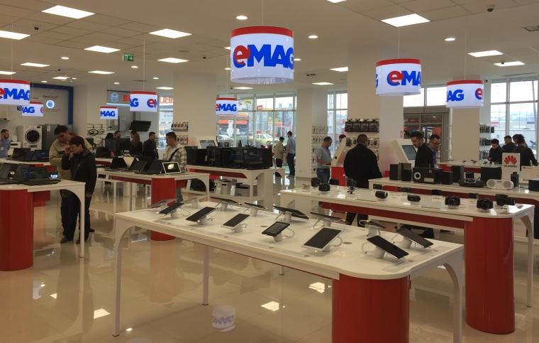 eMAG deschide la Sibiu cel mai mare showroom din provincie