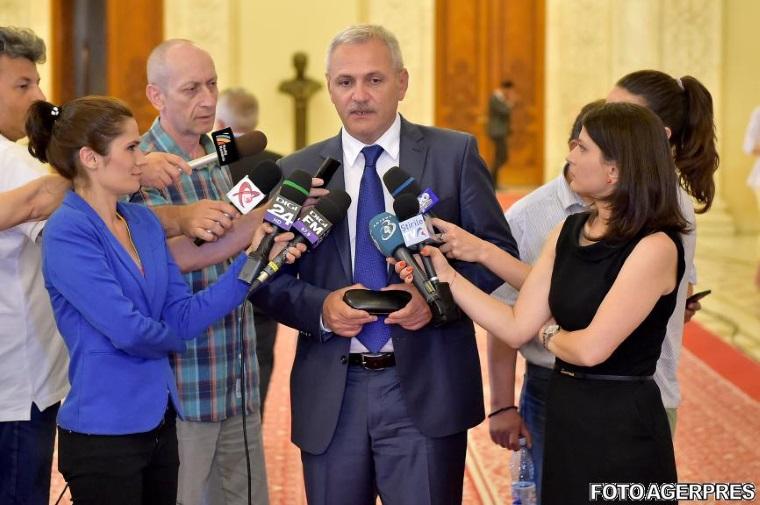 Liviu Dragnea, despre legea salarizarii: sa mai stea o saptamana, sa-si mai dea lumea cu parerea