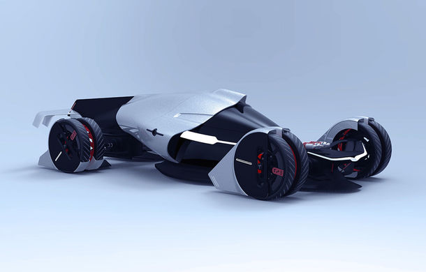 Tesla T1: conceptul inedit pentru Cursa de 24 de ore de la Le Mans are 1.340 de cai putere si atinge peste 400 km/h