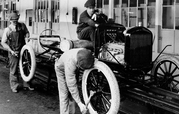 Ford sarbatoreste 104 ani de la inaugurarea primei sale linii de productie