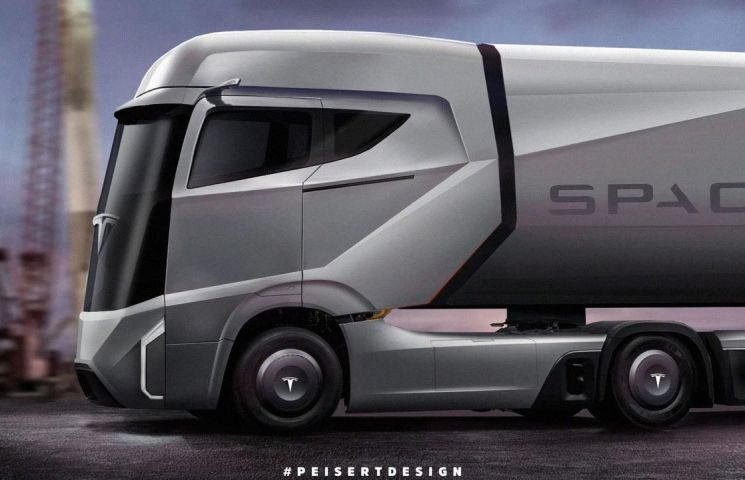 Tesla vrea sa lanseze primul sau camion electric in toamna acestui an