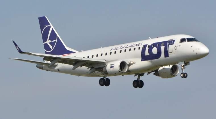 LOT creste capacitatea din Romania. Circa 45% dintre romani zboara la Varsovia pentru zboruri de conexiune
