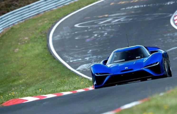 Hypercar-ul electric NextEv Nio EP9 stabileste un nou la Nurburgring