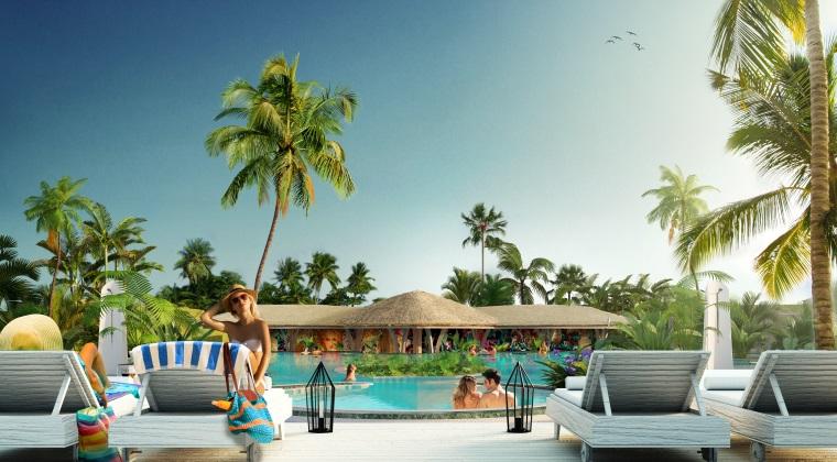 Therme deschide cea mai mare plaja urbana din Europa, cu piscina tropicala. Iata cum arata si cat costa intrarea