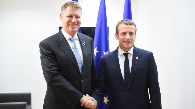 Politic - Emmanuel Macron vine in Romania, la invitatia lui Klaus Iohannis