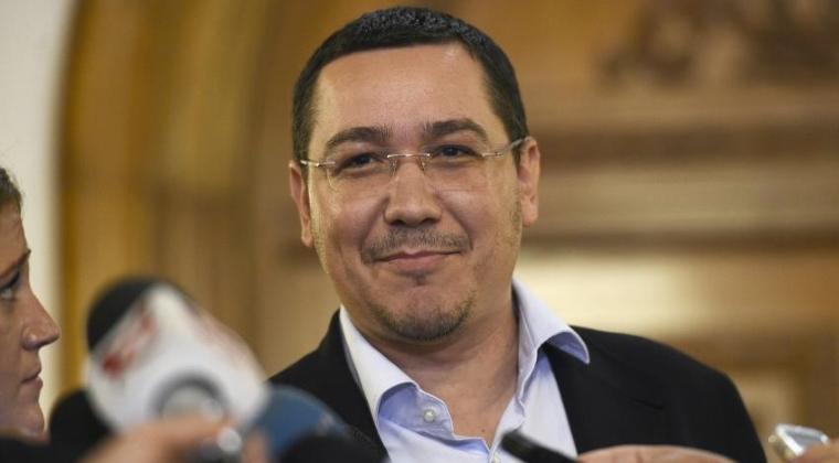 Victor Ponta a anuntat ca din tomana va face politica intr-un partid nou