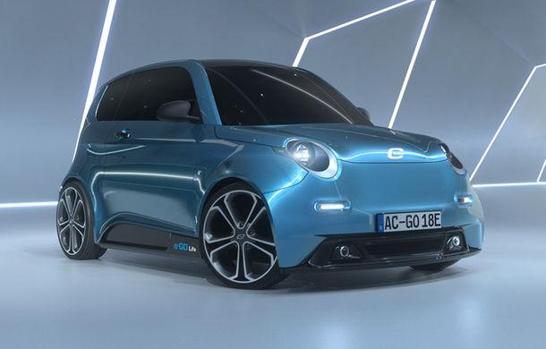 e.Go Life, masina electrica de 16.000 de euro cu autonomie de 130 de km vine in 2018
