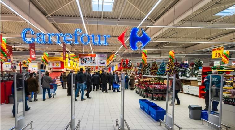 Vanzarile Carrefour au crescut cu 6,2% in primul semestru, la 43,1 miliarde de euro