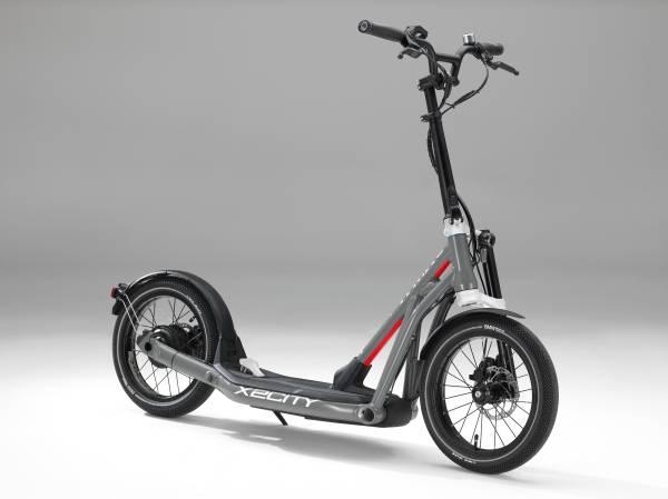 BMW Motorrad lanseaza anul acesta trotineta electrica X2City