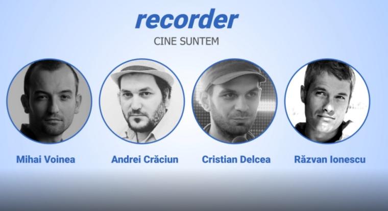 Patru tineri lanseaza o publicatie de video-jurnalism: Prin ce difera Recorder