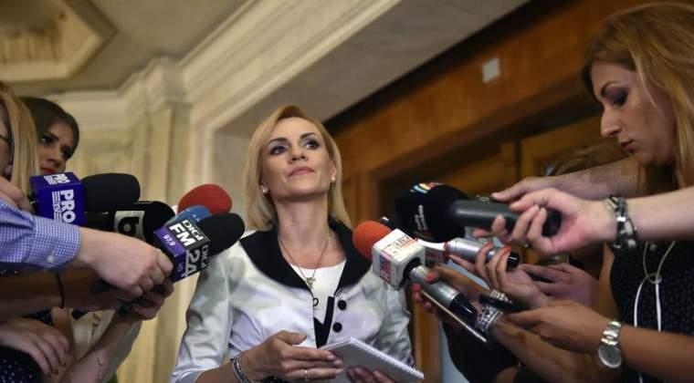 """Gabriela Firea a facut plangere penala impotriva """"unui site care publica neadevaruri despre activitatea sa"""""""