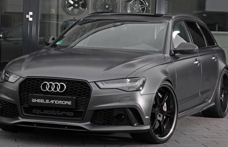 Audi RS6 si RS7 ajung la 820 CP gratie unui pachet de tuning realizat de Wheelsandmore