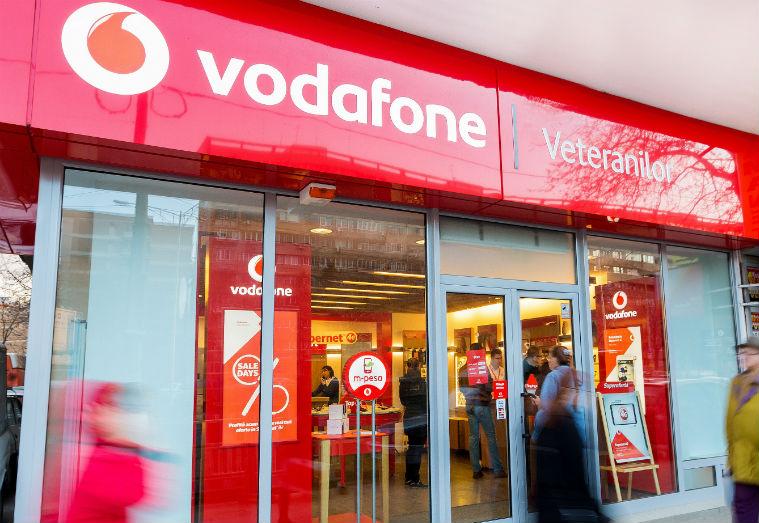 Vodafone, venituri in crestere in trimestrul doi