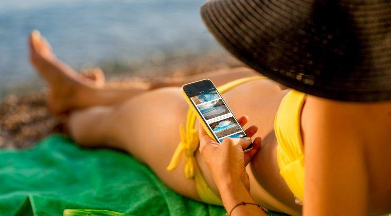 Turistii din Mamaia pot verifica in timp real temperatura apei, directia vantului si a curentilor marini