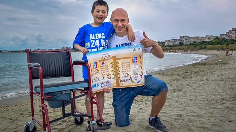 Constanta va fi primul oras din Europa cu plaja pentru persoanele cu dizabilitati