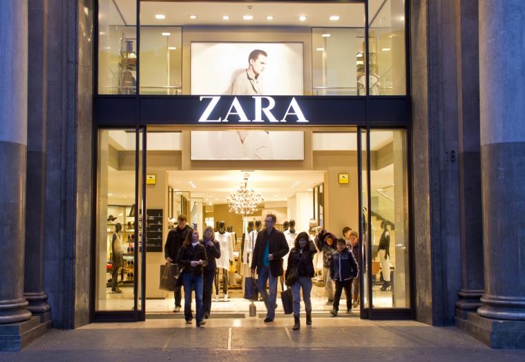 Afacerile gigantului Inditex in Romania depasesc 1,3 miliarde lei. Zara vinde cel mai mult