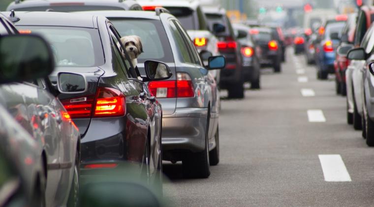 Traficul rutier incepe din nou sa se aglomereze pe Valea Prahovei