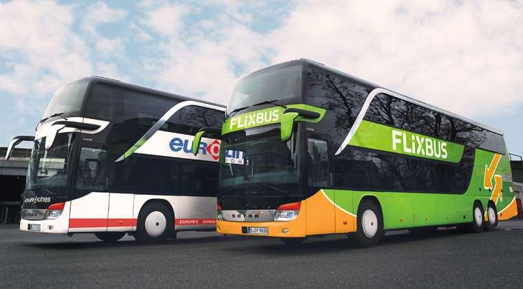 Autocarele Eurolines ale lui Dragos Anastasiu intra in reteaua Flixbus