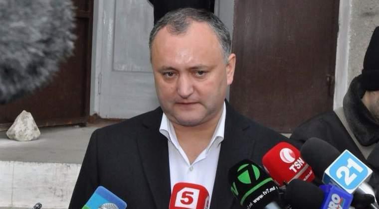 Igor Dodon: Romania nu va putea niciodata inghiti Republica Moldova. Ii va provoca indigestie