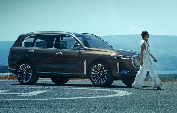 BMW X7 Concept: cel mai mare SUV BMW din istorie va avea versiune plug-in hybrid si vine in 2018