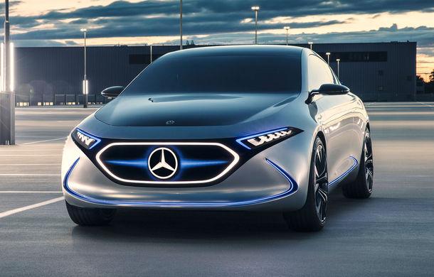 Mercedes EQA: conceptul electric are 272 de cai putere si autonomie de 400 de kilometri
