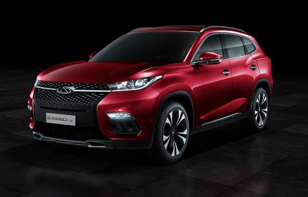 Chinezii de la Chery revin in Europa cu un nou brand: Exeed TX este un SUV plug-in hybrid