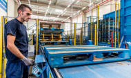 Investitie la Ploiesti, de peste o jumatate de MIL. euro, intr-o linie semi-automata de reconditionare a paletilor