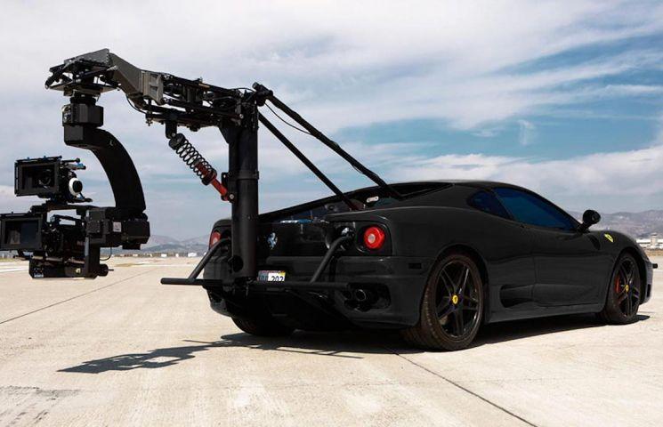 Top 10 cele mai bune masini folosite pentru filmari din industria cinematografica