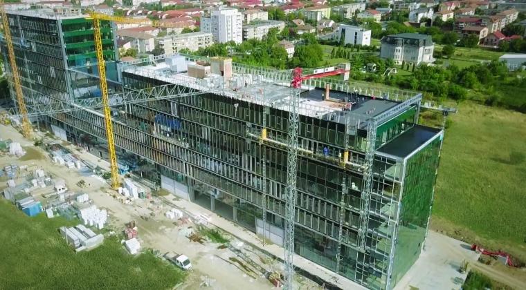 Werk Property Group dezvolta prima cladire de spatii de birouri unde angajatii vor avea acces cu identificare biometrica in Timisoara