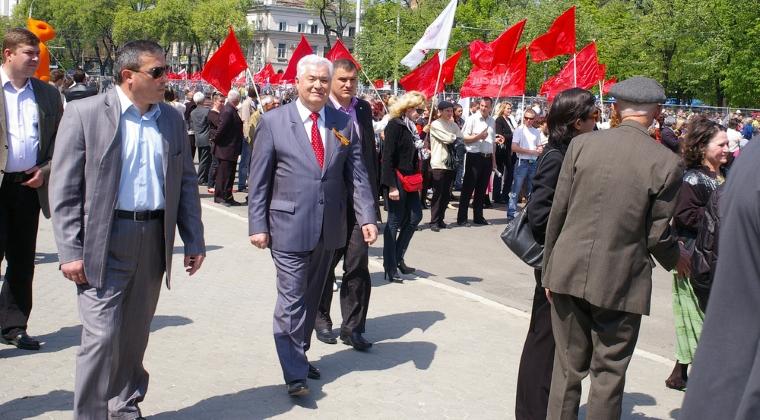 Vladimir Voronin spune ca Traian Basescu i-a propus unirea intre Republica Moldova si Romania