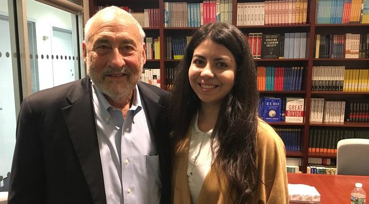 Povestea romancei care studiaza la Columbia University cu un laureat Nobel pentru economie
