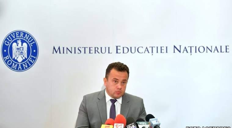 Liviu Pop: Daca am mai guverna 6 ani, invatamantul ar fi de 10!
