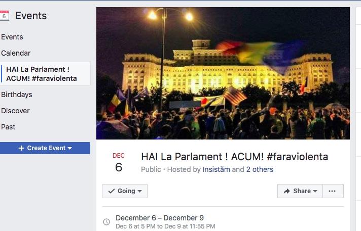 PROTESTE anuntate in seara aceasta la Parlament