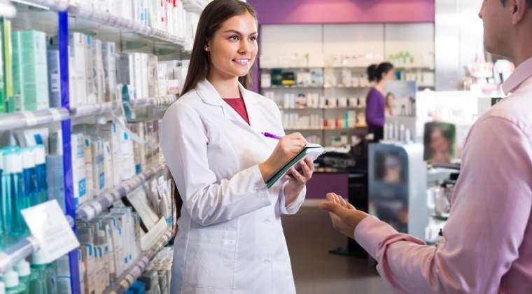 Romania, printre statele cu cel mai ridicat numar de farmacisti per locuitor
