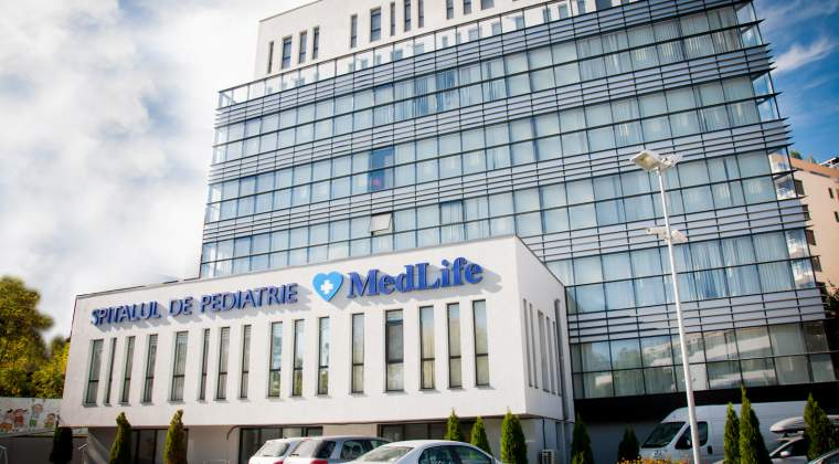 MedLife a trecut pe profit in 2017. Rezultatul net a depasit 8,84 milioane lei