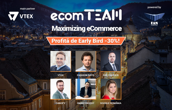 eCommerce - FAN Courier, Breslo si FashionDays, noi confirmari la ecomTEAM 2018